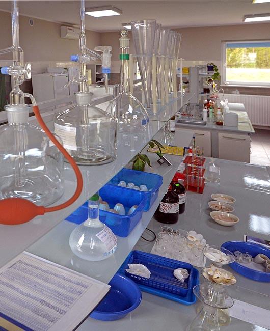 Laboratorium badanie oleju