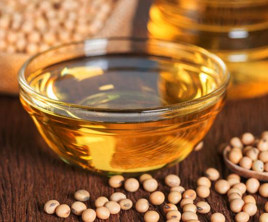 Olej sojowy surowy