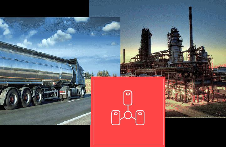 Transport olejów cysterny